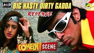 Big Nasty Dirty Gadda   Revenge   Hindi Movie - Comedy Scene   Prosenjit, Piya