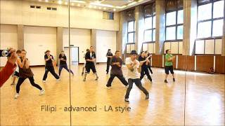 Her majesty dance company - video of the workshop with Nobru and Filipi