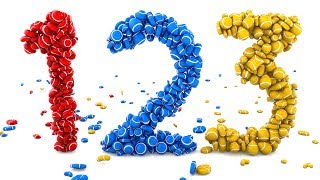 Learn Numbers with 3D Colorful Candies - Colors & Numbers Collection for Children