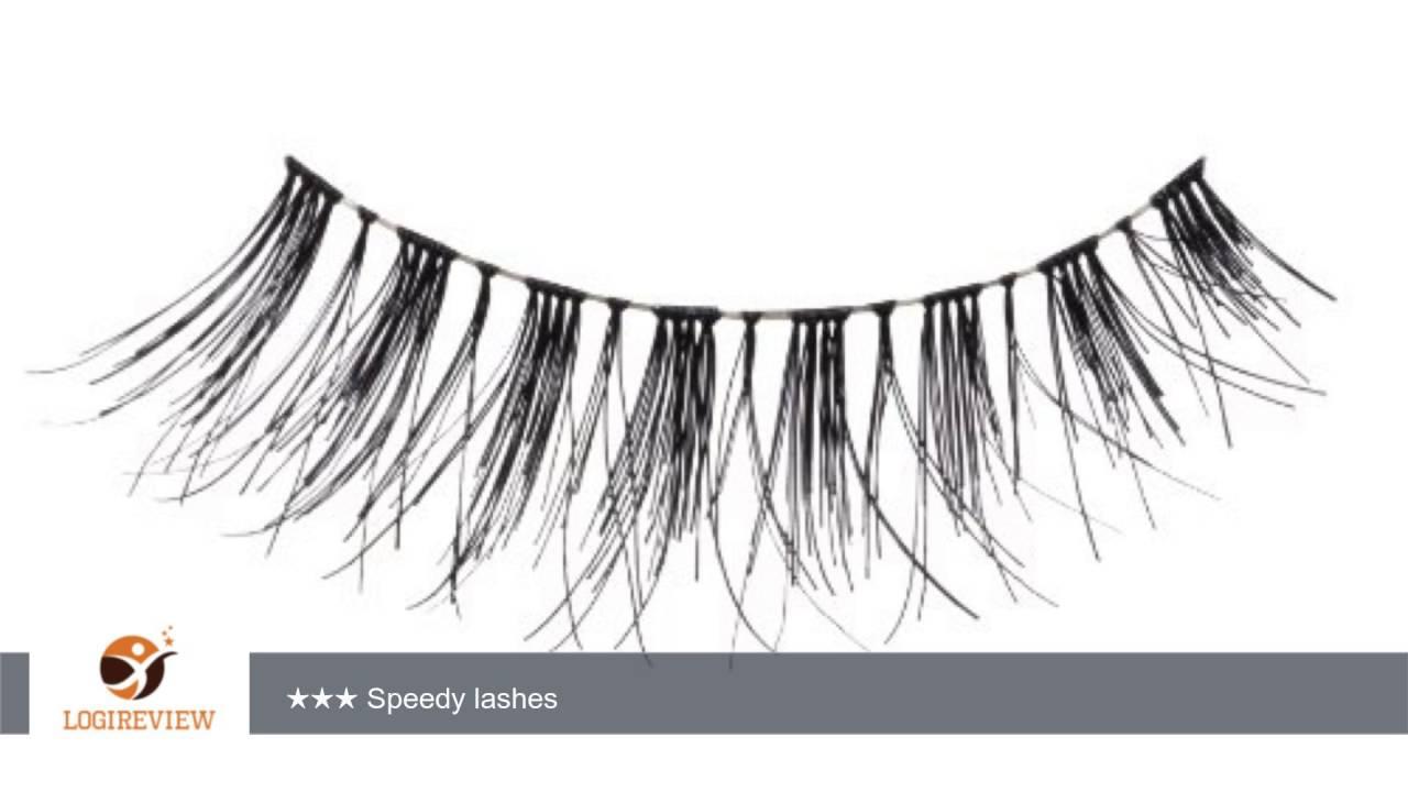 Eylure Pre Glued 117 False Eyelashes Black Reviewtest
