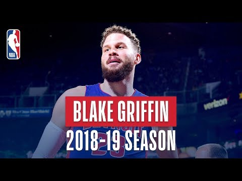 Blake Griffin's Best Plays From The 2018-19 NBA Regular Season