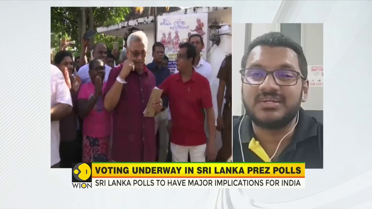 Sri Lanka presidential election: WION Speaks to Zulfick Farzan, Journalist from Colombo