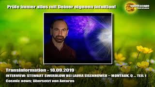 Interview Stewart Swerdlow - Montauk, Q... Teil 1 - Transinformation.net