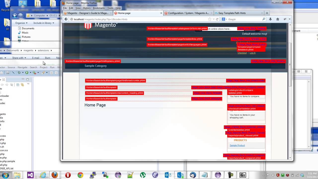 magento responsive theme creation part 1 file structure and
