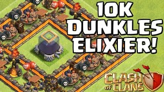 10K DUNKLES ELIXIER! || CLASH OF CLANS || Let's Play CoC [Deutsch/German Android/iOS PC]