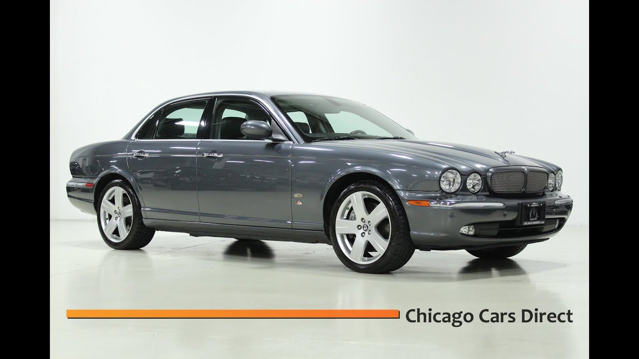 Chicago cars direct presents a 2007 jaguar xjr sedan x13339