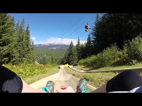 Alpine Slide - Mt. Hood Skibowl GoPro Hero 3+ Silver 1080p 60fps
