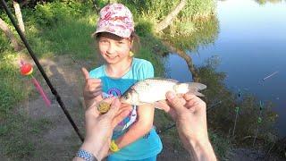 Рыбалка с Дочкой на убийцу карася(кормак) и флэт кормушку