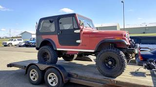1985 Jeep CJ7 Restoration by Miller Brothers Auto Repair