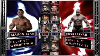 WWE 12 PC Gameplay video
