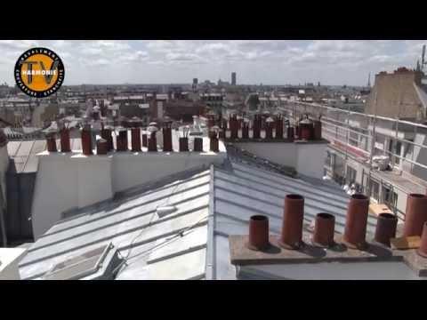 Le déroulement d'un chantier de rénovation d'une toiture en zinc.