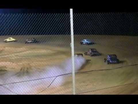 Vintage Car Feature Race at Northwest Florida Speedway Sept 6, 2013