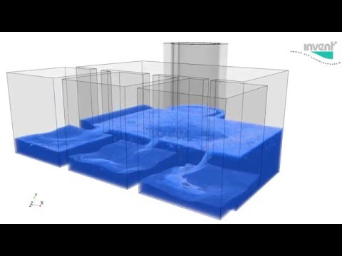 CFD in the Water Industry: Water filling of hydraulic facility