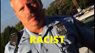 Racist Police Officer Got What He Deserved. (Disturbing Video)