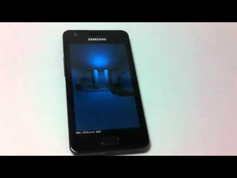 Samsung Galaxy R I9103 hands on