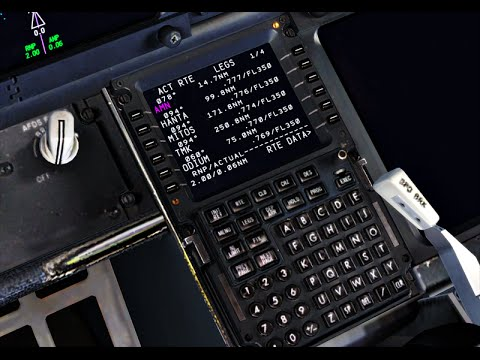 [FSX] Flight Log - Petunjuk Penggunaan PMDG NGX FMC - Part 1 by Wira  Intruder