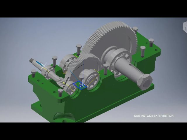 Inventor 2015 animation gear box leclife online video lectures gear box simulation autodesk inventor 2017 ccuart Image collections