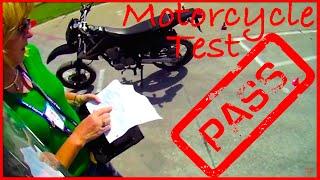 (POV) Illinois Motorcycle Test- Pass