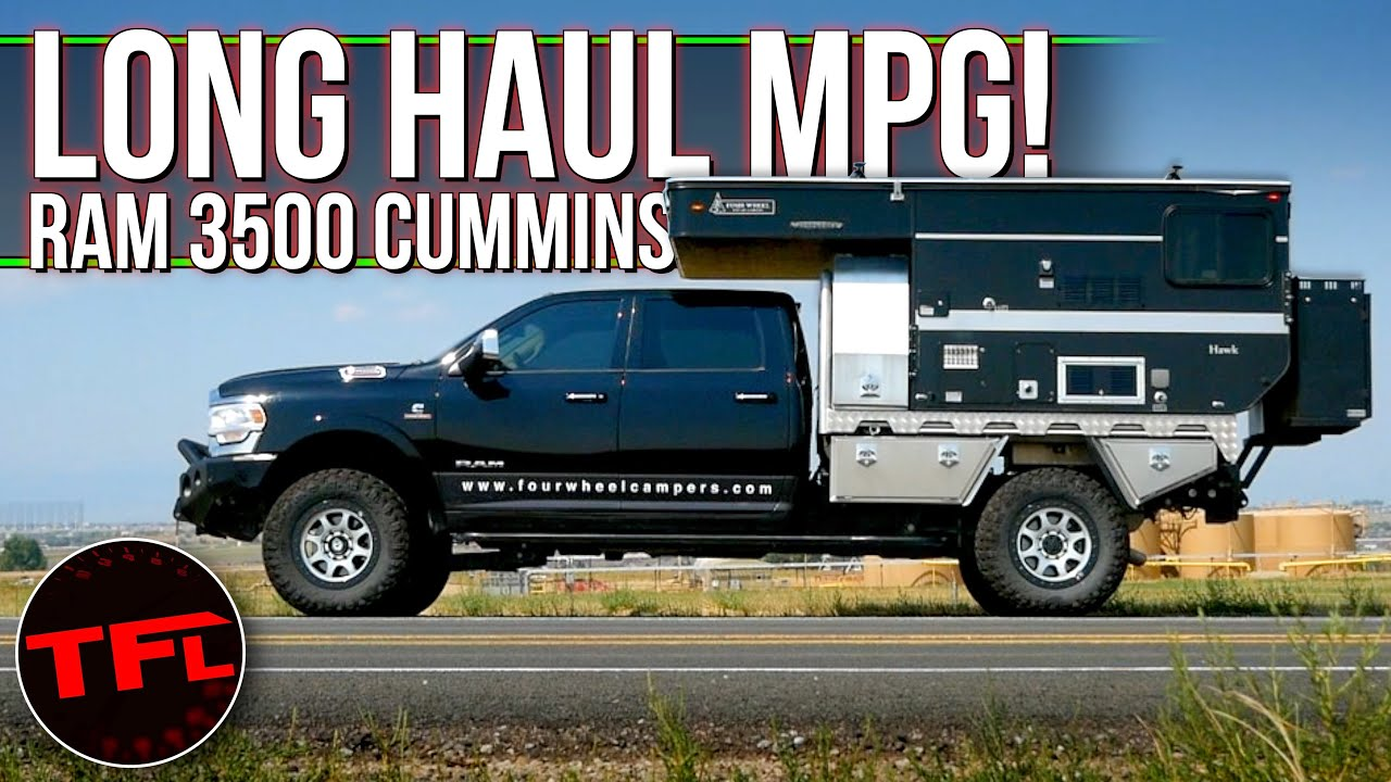 We Didn't Expect This - Here's What adding a Camper To Your Pickup Does to Your Fuel Economy!
