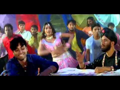 Dharmesh sir in a BhojPuri SOng.FLV