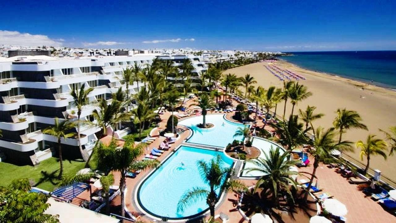 Top10 Recommended Hotels In Puerto Del Carmen Lanzarote Canary Islands Spain You