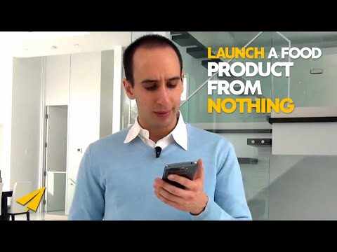 Launching a new food product - Ask Evan
