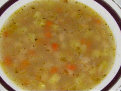 как приготовить суп с картошкой и макаронами без мяса