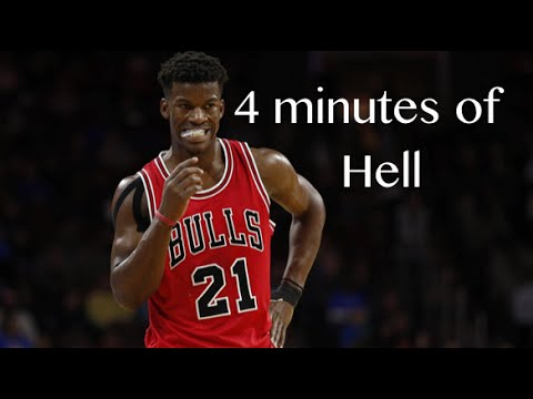 """Jimmy Butler - """"4 minutes of Hell"""""""