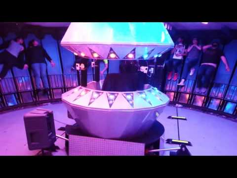 Gravitron Ride Inside - Royal Melbourne Show 2015