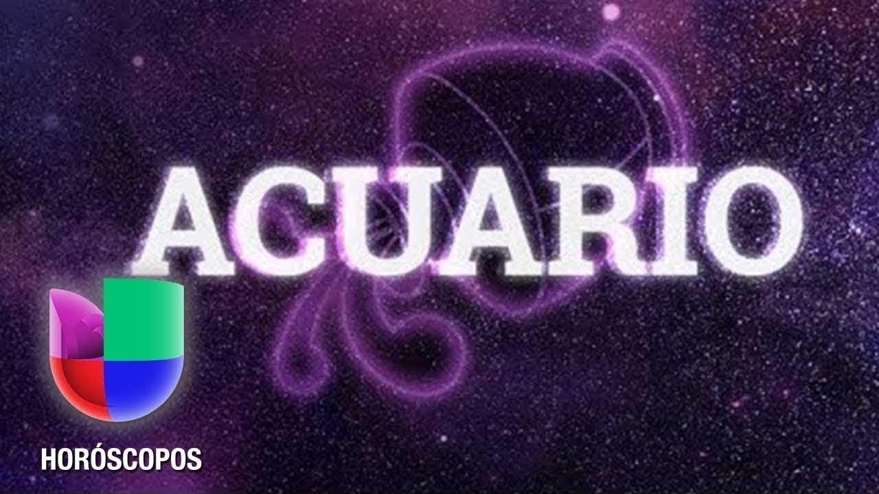 Acuario - Predicciones para 2019 | Univision Horóscopos - YouTube