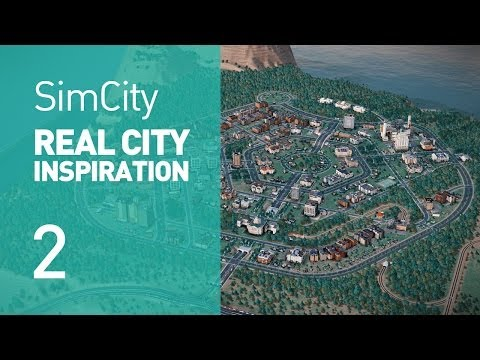 Real City Inspiration - Canberra (SimCity)