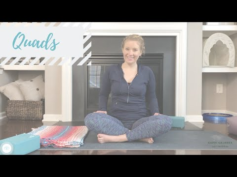 QUADS | Tuesdays with Capri | Week 9 | 40 min | Capri Galaska | Yoga