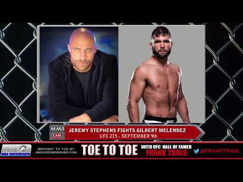 Frank Trigg pre-fight interview with UFC 215's Jeremy Stephens