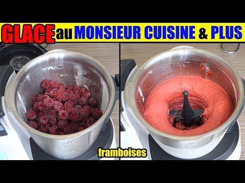 glace-monsieur-cuisine-plus-sorbet-framboise-fruits-congelés-fraise-ananas-fruit-rouge-etc..