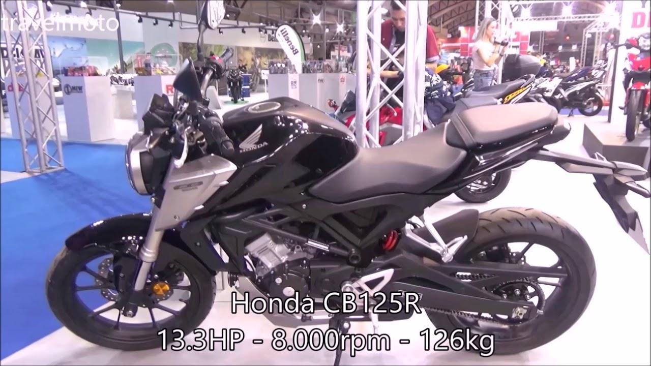 Brand New HONDA CB125R Vs HONDA CBF125 (side By Side)