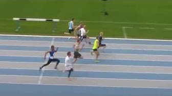 Oskari Lehtonen NYU 100m a-fin Espoo 24.5.2015