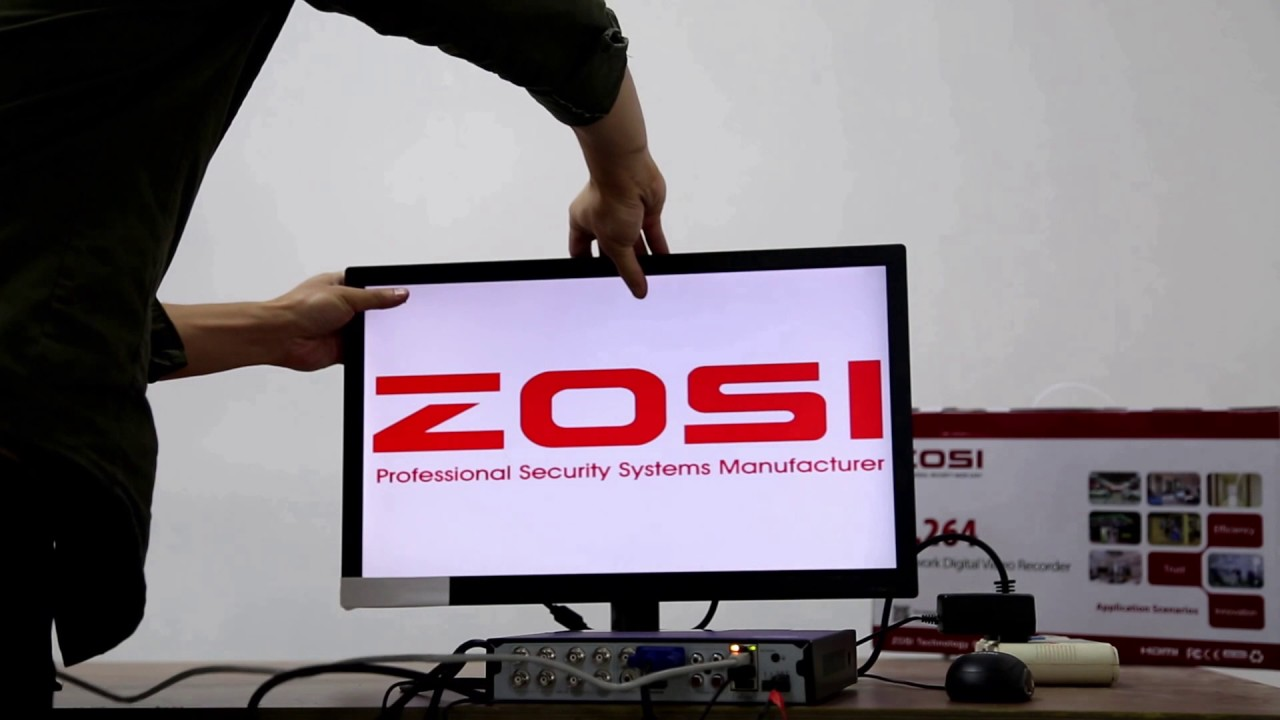 ZOSI Security System - How to set up your system and ZOSI VIEW app