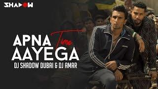Apna Time Aayega Remix | DJ Shadow Dubai x DJ Amar | Gully Boy | Ranveer Singh | DIVINE