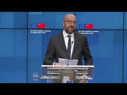 President Charles Michel debates EU-China relations