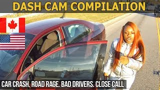 Car Crashes in America (USA & Canada) bad drivers, Road Rage 2017 # 12