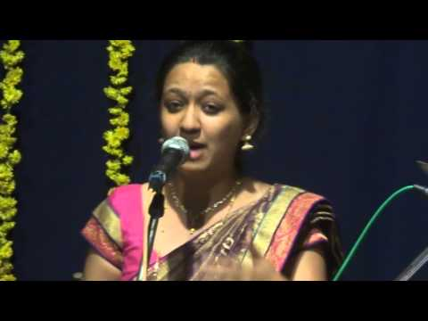 Usha H concert @ Prof NT Bhat Felicitation - Saptaswara.....