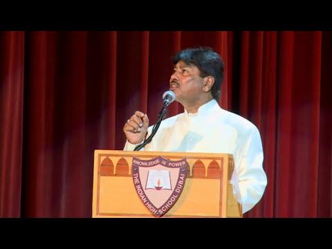12.Tahir Faraz performing Nazm Mai– Hamari Association Mushaira 2014 - 720p HD – Dubai 2014