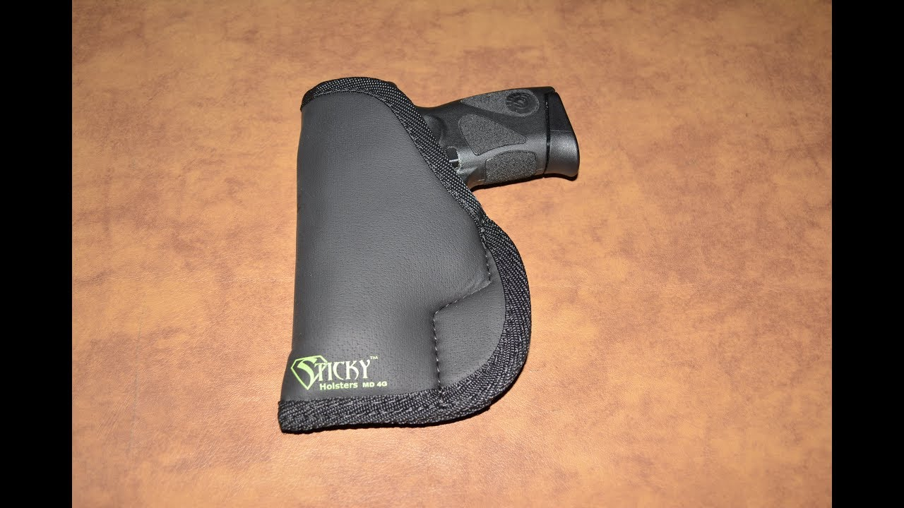 Repeat Sticky Holster MD 4G for Taurus PT111 by Seth Adam