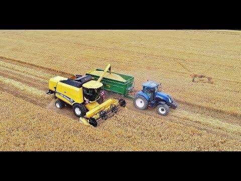 Mini Harvest 2018 New Holland TC5070, T7.200 + Mega 20 Czech Republic thumbnail