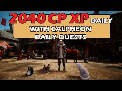 Black Desert Online SEA - 2040 CPXP/Day with Calpheon Daily Quests with Explanation & Insights ~ !