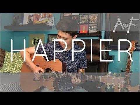 Happier - Marshmello Ft. Bastille - Cover (fingerstyle Guitar)
