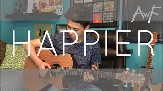 Happier - Marshmello ft. Bastille - Cover (fingerstyle guitar)