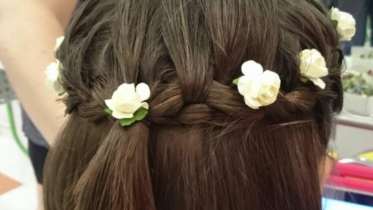 peinados de boda para nia paso a paso