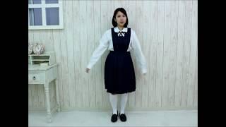 ミアコスチューム NH3094 和洋九段女子女子中学校・高等学校 旧冬制服 サイズ:M