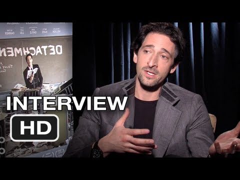 Detachment - Adrien Brody Interview - Tony Kaye Movie (2012) HD